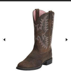 Ariat Heritage Stockman Western cowgirl boots
